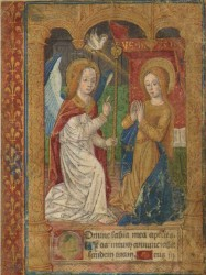 THE ANNUNCIATION - 1495