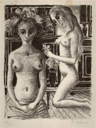 Paul Delvaux - Phryné- 1969