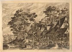Hans Bol - THE VILLAGE FEAST -1562