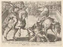 Giovanni de Medici in duel