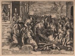 ST PAUL BITTEN BY THE VIPER - GOLTZIUS