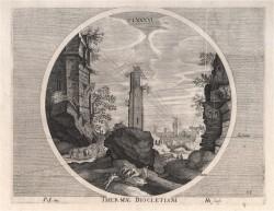 Hondius - Thermae Diocletiani II