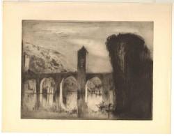 Brangwyn - The Bridge, Cahors