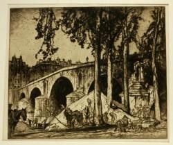 Brangwyn - Ponte Marie, Paris
