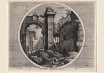Hondius - Thermae Diocletiani I