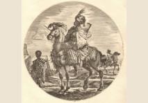 Johanna Sibylla Kusel - Cavalier Nègre / Black Horseman
