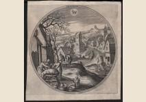 Hans Bol - December - 1580