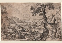 Hans Bol - TOBIAS LANDSCAPE -1574