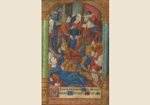 MASSACRE OF THE INNOCENTS - Miniature 1495