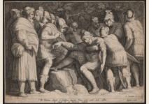 THE WOUNDED SCIPIO - GOLTZIUS / SAENREDAM