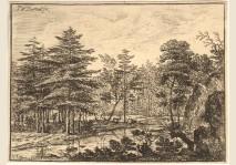 VAN BEMMEL - LANDSCAPE WITH A STREAM
