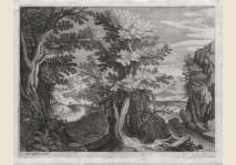 Raphael Sadeler - Landscape