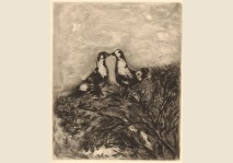 Chagall- Les Deux Pigeons