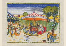 Edgard Tytgat - Carrousels et Baraques 1919