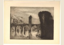 Brangwyn - The Bridge, Cahors