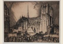 Brangwyn - Notre Dame, Paris