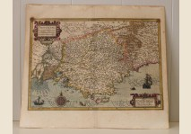 Mercator - Map of The Provence