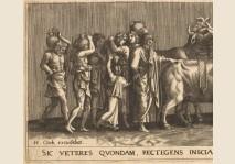 Lambert Lombard - Roman procession