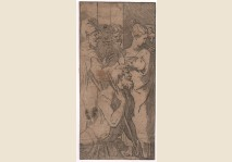 Parmigianino - Healing the Cripple