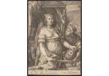 JUDITH AND HOLOFERNES - GOLTZIUS / SAENREDAM