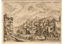 Hans Bol - VILLAGE SCENES -1562