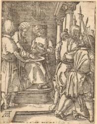 Albrecht Dürer - Christ before Pilatus