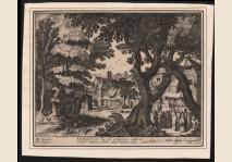 Frisius - Landschap met bijbelscene