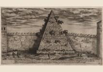 Du Perac - Piramide Cestio