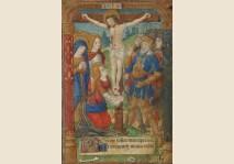 CHRIST ON THE CROSS - Miniature 1495