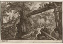 Peeter Stevens - BRIDGE ABOVE A TORRENT