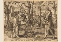 Pieter Furnius - The Prophet Elijah