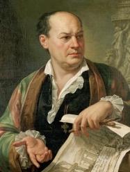 Pietro Labruzzi portrait of Giovanni Battista Piranesi